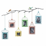 Birdcage Photo Frame D�cor