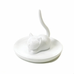 Charming Cat Ring Holder