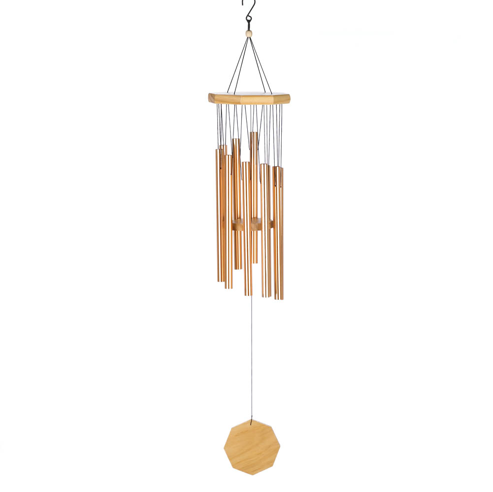 How to make wooden wind chimes trendy sea glass diy wind for Affordable furniture grants pass oregon