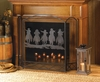 Cowboy Round-Up Fireplace Screen