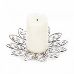 Crystal Flower Candle Holder