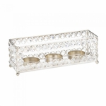 Crystal Showcase Candle Holder