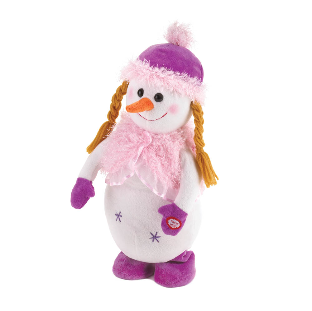 Dancing Snowgirl Plush