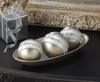 Decorative Silver Balls Set