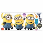 Despicable Me 2 Minions Wall Decals