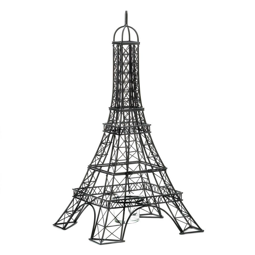 Eiffel Tower Candle Holder Wholesale At Eastwind Wholesale