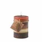 Harmony Leaf Pillar Candle
