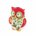 Holiday Hoot Tea light Holder