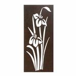 Iris In Bloom Wall Art