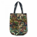 Marvel Retro Canvas Tote