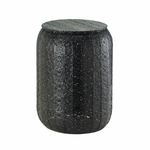 Midnight Moroccan Iron Stool