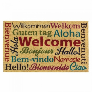 Multi-Lingual Welcome Mat