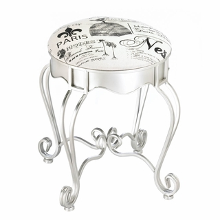 Pretty In Paris Foot Stool