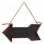 Red Arrow Chalk Message Board