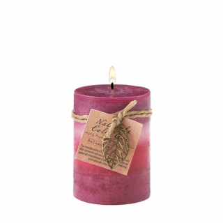 Relaxation Leaf Pillar Candle