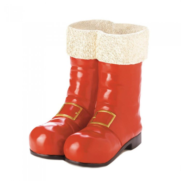 Santa Red Boots Decorative Vase Wholesale At Eastwind Wholesale Gift