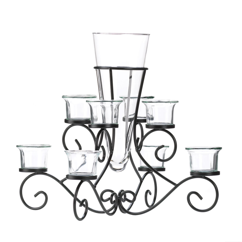 Scrollwork candle stand centerpiece vase at eastwind wholesale scrollwork candle stand centerpiece vase reviewsmspy