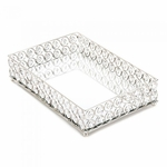 Shimmer Rectangular Jeweled Tray
