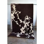 Silhouette Hand Tufted Wool Rug 4' X 12'