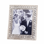 Silver Medallion 8X10 Photo Frame