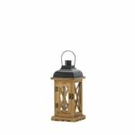 Small Hayloft Wooden Candle Lantern
