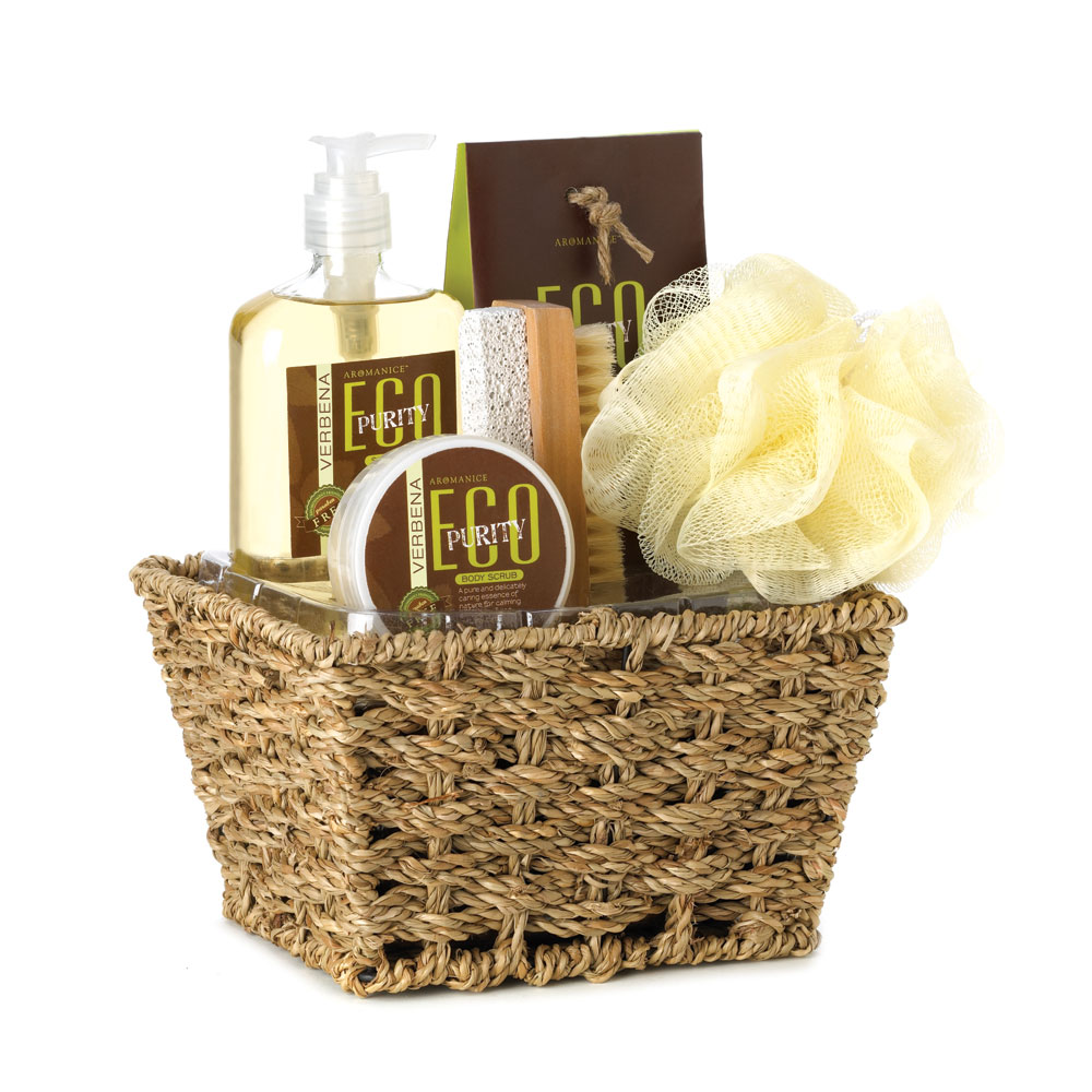 Eco Purity Verbena Bath Spa Gift Set at Eastwind Wholesale Gift ...