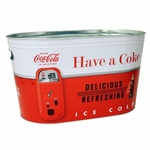 Vintage Coke Large Oval Party Tub