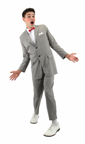 ADULT DELUXE PEE WEE COSTUME
