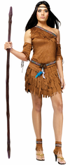 ADULT POW WOW INDIAN COSTUME