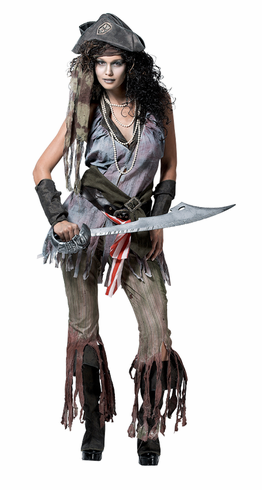 ADULT SHIP WRECK SALLY COSTUME