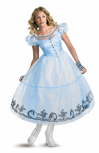 ALICE MOVIE COSTUME DLX Adult Costume