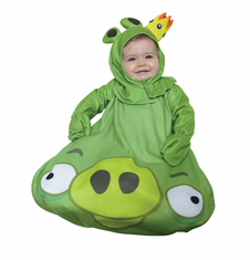 ANGRY BIRDS KING PIG INFANT COSTUME