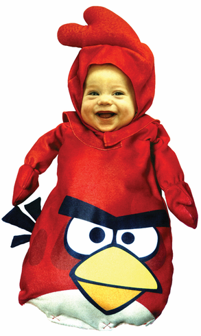 ANGRY BIRDS RED INFANT COSTUME