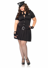 ARRESTING OFFICER ADULT SEXY PLUS SIZE COSTUME