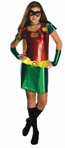 BATMAN ROBIN TWEEN COSTUME