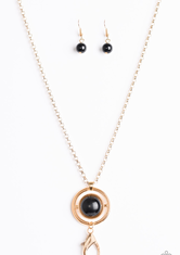Black Always Front And Center Necklace