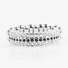 Black Turn The Other Chic Ring