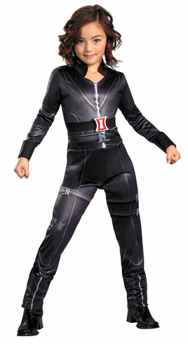 BLACK WIDOW AVENGERS CLASSIC CHILD COSTUME