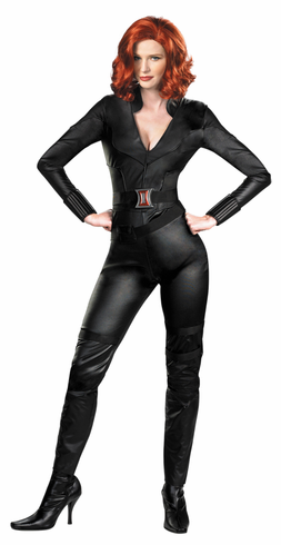 BLACK WIDOW AVENGERS DELUXE ADULT COSTUME