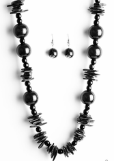 Black Yes We Cancun Necklace