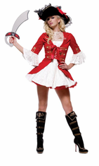 CAPTAIN BOOTY ADULT COSTUME