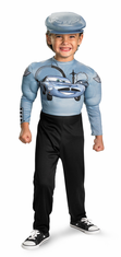 CARS 2 FINN MCMISSLE MUSCLE CHILD COSTUME