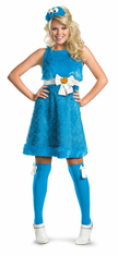 COOKIE MONSTER SASSY ADULT COSTUME
