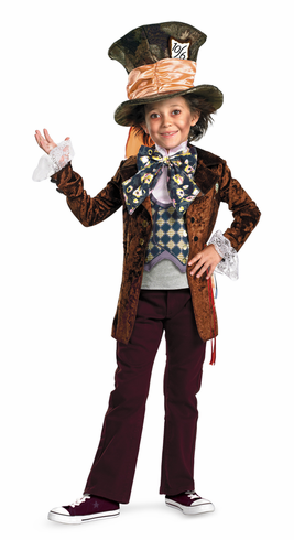 DELUXE MAD HATTER CHILD COSTUME