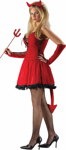 DEVIL SEXY ADULT COSTUME