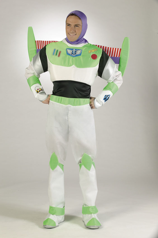 DISNEY ADULT BUZZ LIGHTYEAR COSTUME