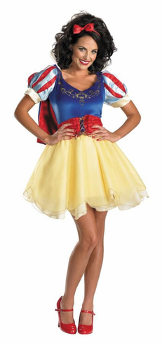DISNEY ADULT SASSY SNOW WHITE COSTUME