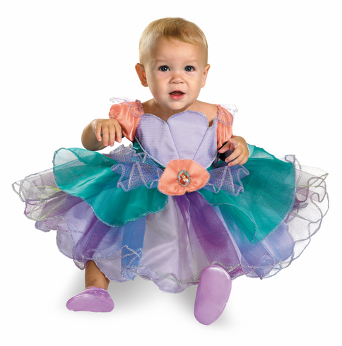 DISNEY ARIEL INFANT COSTUME