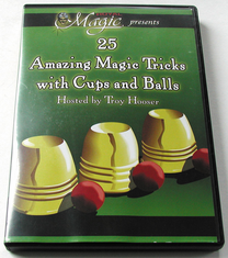 DVD MAGIC WITH CUPS AND BALLS