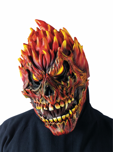 FEARSOME FACES MASK FIRE SKULL